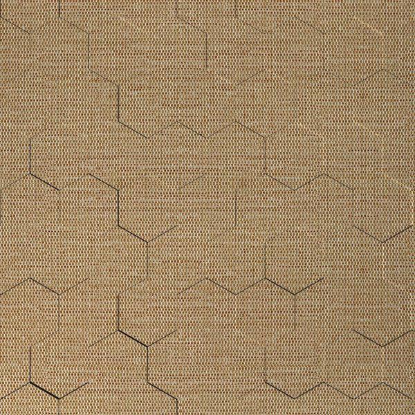 Vinyl Wall Covering Dimension Walls Honeycomb Linen Ecru