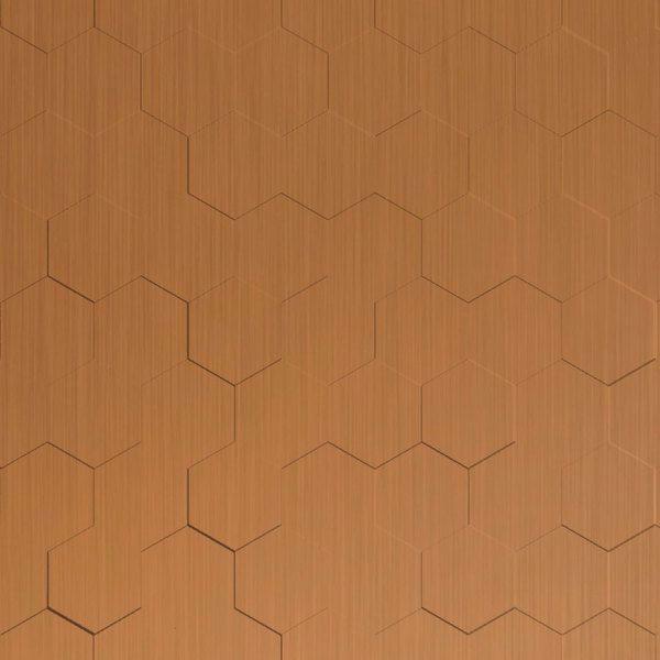 Vinyl Wall Covering Dimension Walls Honeycomb New Penny