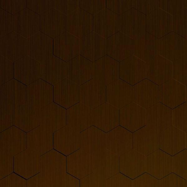 Vinyl Wall Covering Dimension Walls Honeycomb Rubbed Bronze