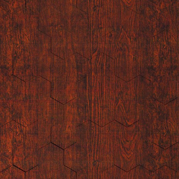 Vinyl Wall Covering Dimension Walls Honeycomb Walnut