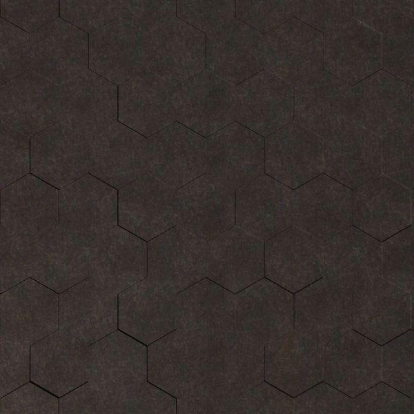 Vinyl Wall Covering Dimension Walls Honeycomb Gunmetal