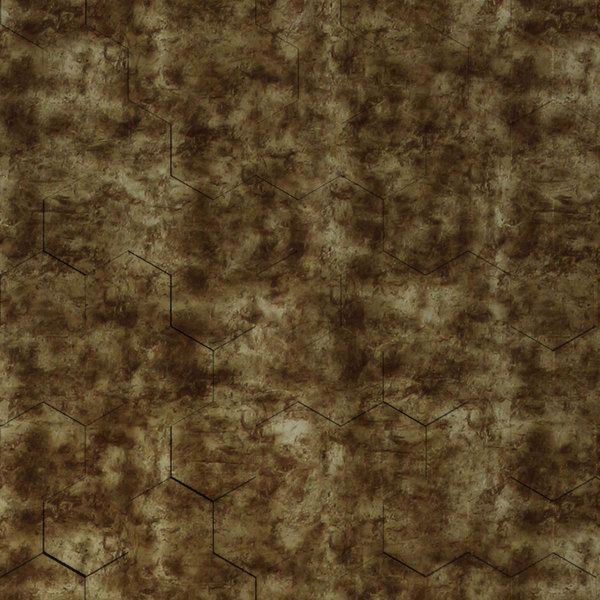 Vinyl Wall Covering Dimension Walls Honeycomb Aged Bronze