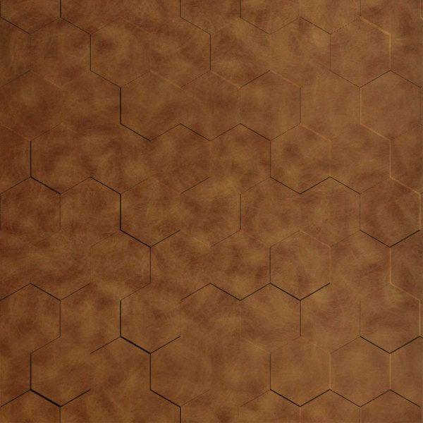 Vinyl Wall Covering Dimension Walls Honeycomb Antique Bronze
