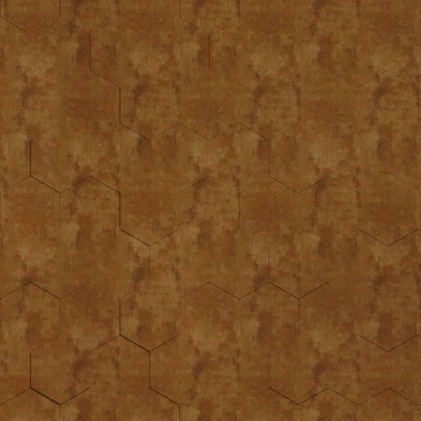 Vinyl Wall Covering Dimension Walls Honeycomb Aged Gold