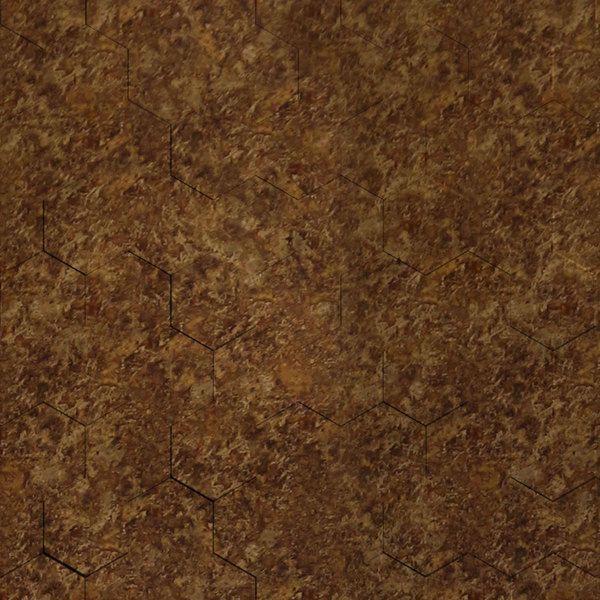 Dimensional Panels Dimension Walls Honeycomb Bronze Patina