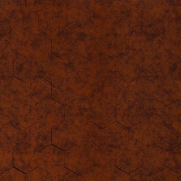 Vinyl Wall Covering Dimension Walls Honeycomb Moonstone Copper