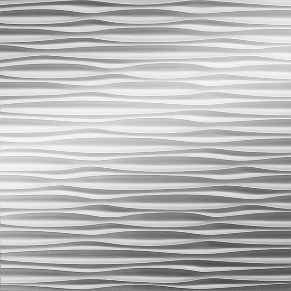 Dimensional Panels Dimension Walls Adirondack Metallic Silver