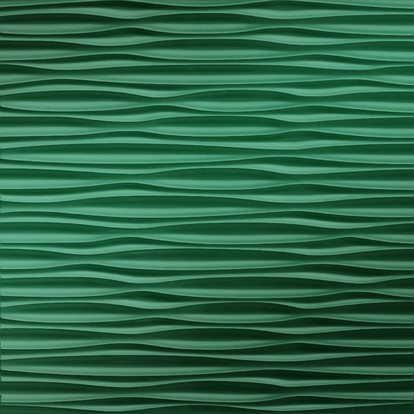 Dimensional Panels Dimension Walls Adirondack Metallic Green
