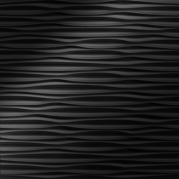 Dimensional Panels Dimension Walls Adirondack Polished Ebony