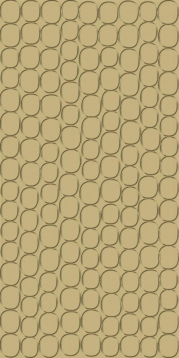 Vinyl Wall Covering Dimension Walls Elliptical Metallic Gold