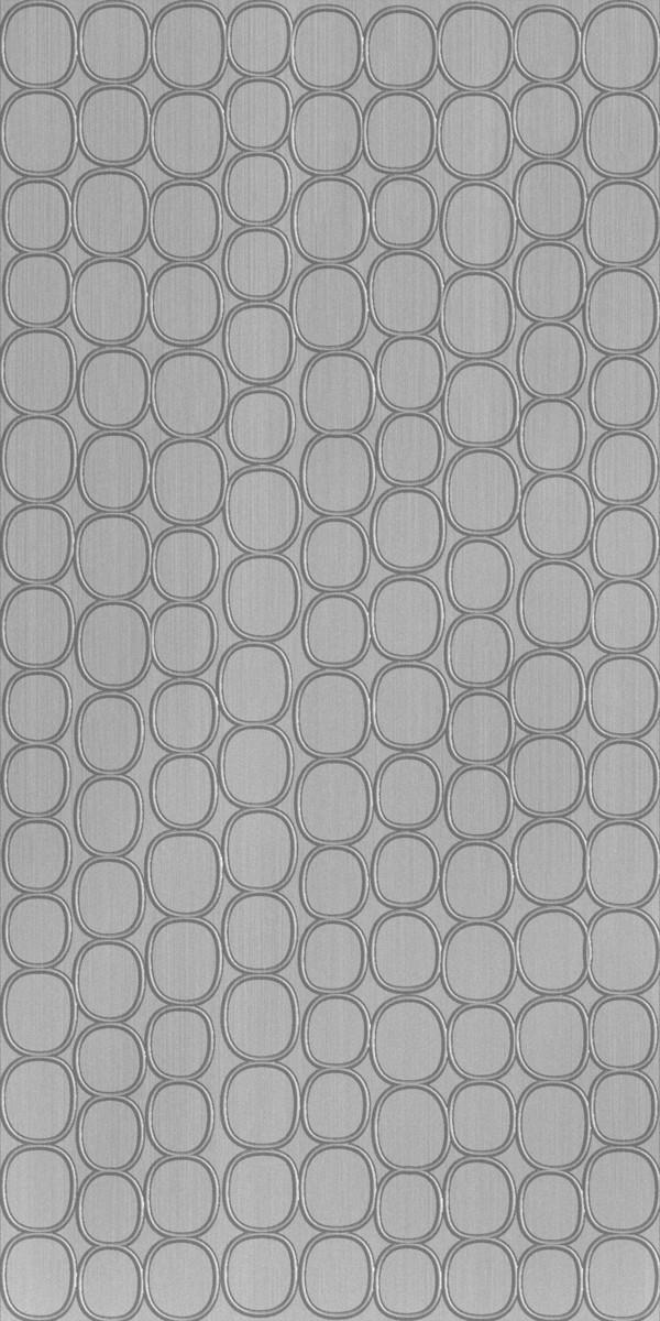 Vinyl Wall Covering Dimension Walls Elliptical Brushed Aluminum
