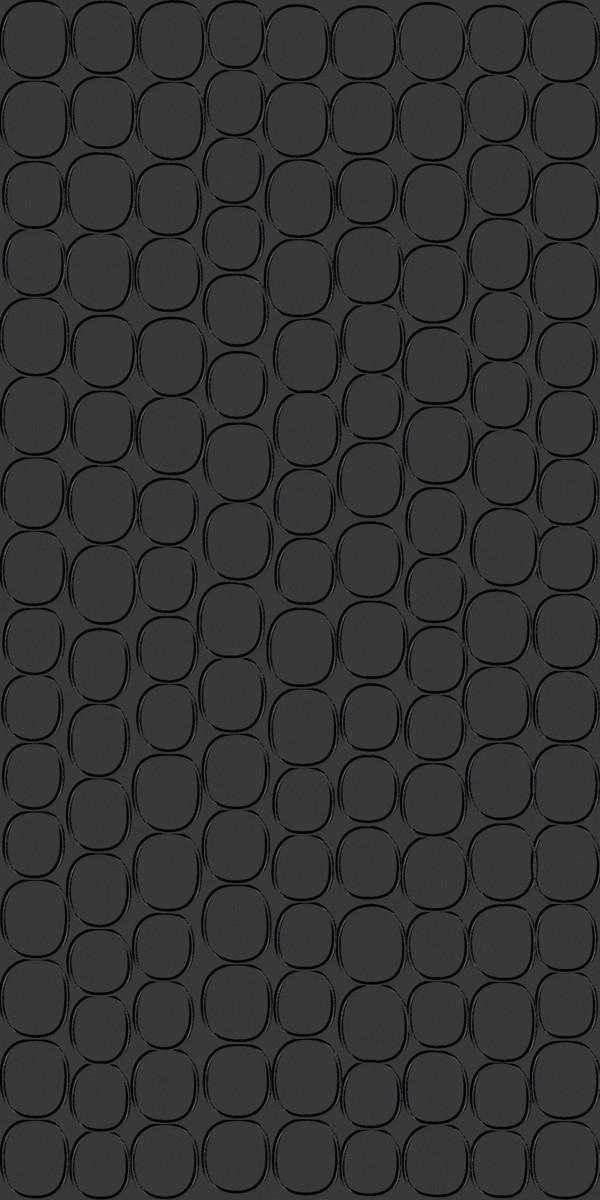 Vinyl Wall Covering Dimension Walls Elliptical Polished Ebony