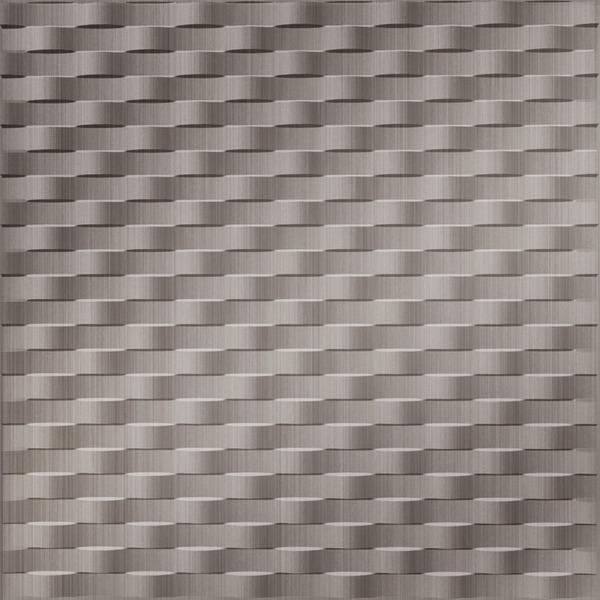 Vinyl Wall Covering Dimension Walls Gallatin Brushed Nickel