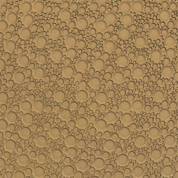 Vinyl Wall Covering Dimension Walls Circle of Cool Gold