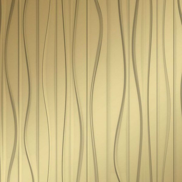 Vinyl Wall Covering Dimension Walls Groovy Metallic Gold