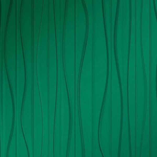 Vinyl Wall Covering Dimension Walls Groovy Metallic Green