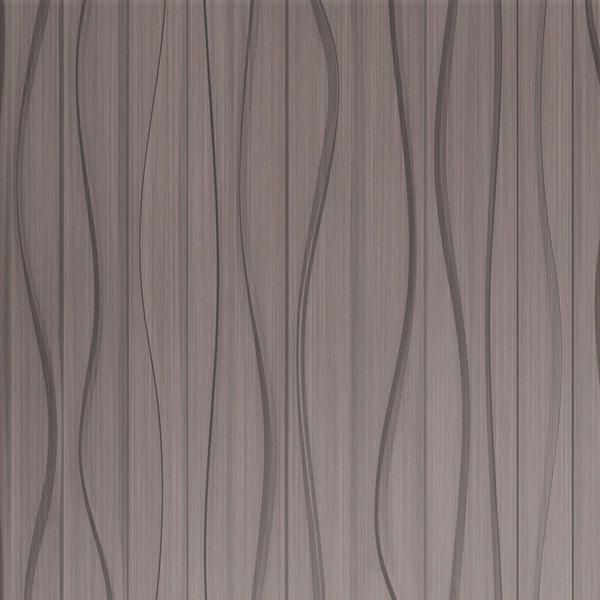Dimensional Panels Dimension Walls Groovy Brushed Nickel