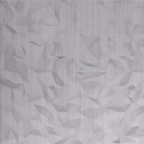 Vinyl Wall Covering Dimension Walls Crack Me Up Brushed Aluminum