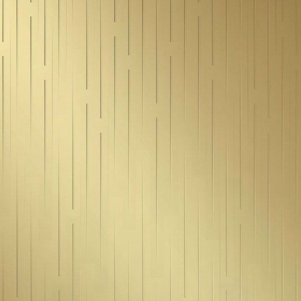Vinyl Wall Covering Dimension Walls Line Them Up Vertical Metallic Gold