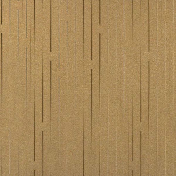 Vinyl Wall Covering Dimension Walls Line Them Up Vertical Gold