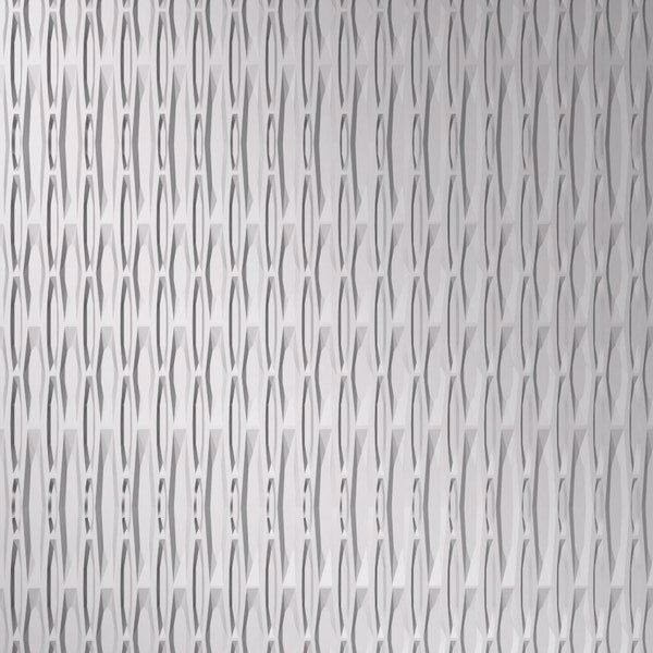 Vinyl Wall Covering Dimension Walls Hammertime Vertical Metallic Silver