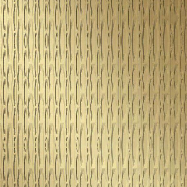 Vinyl Wall Covering Dimension Walls Hammertime Vertical Metallic Gold