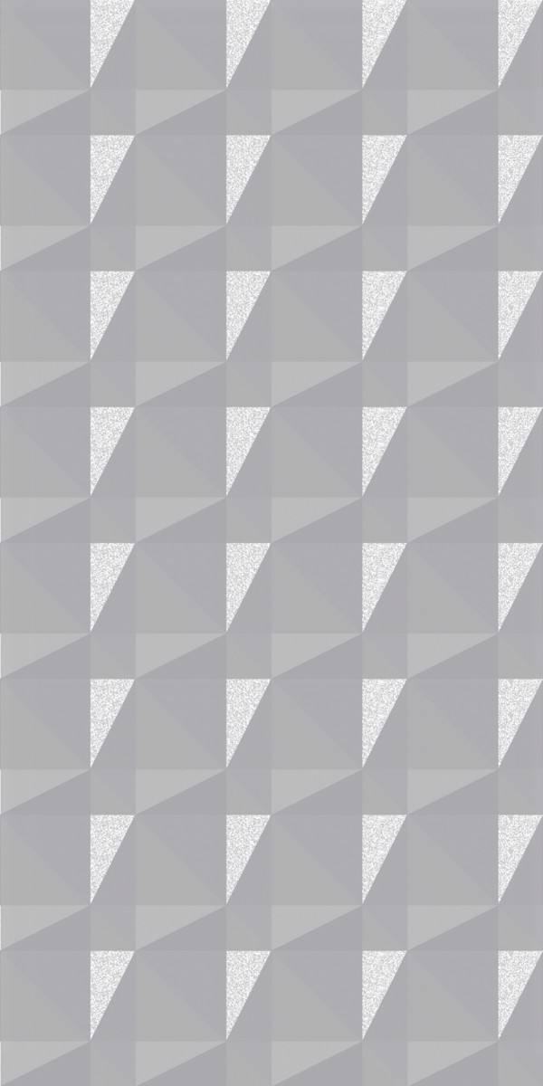 Vinyl Wall Covering Dimension Walls Faceted Metallic Silver