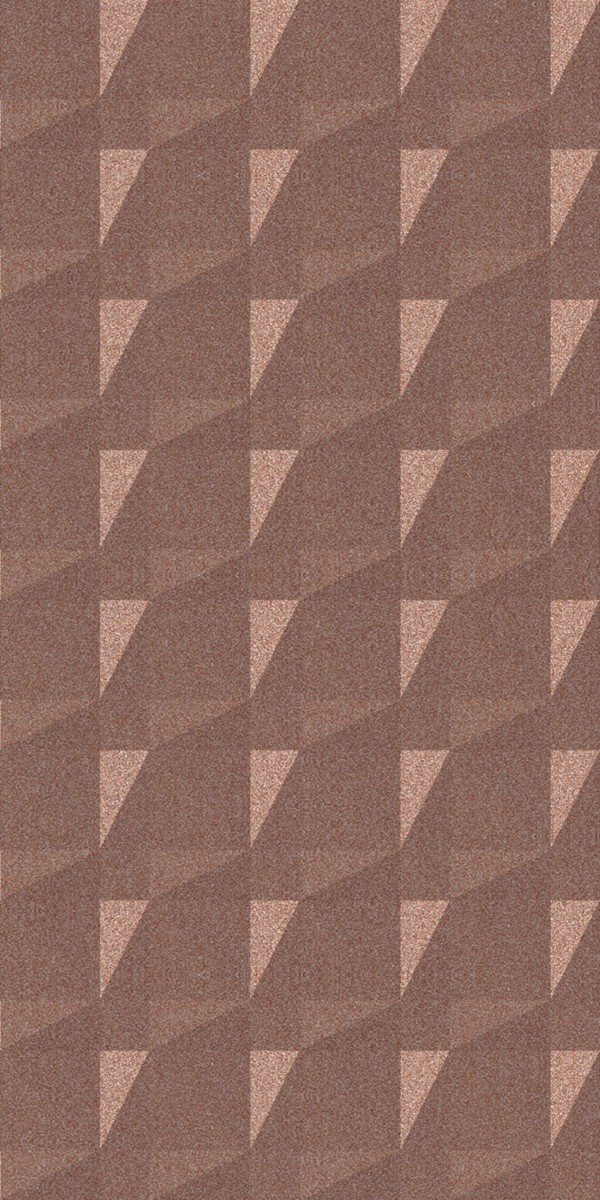Vinyl Wall Covering Dimension Walls Faceted Copper