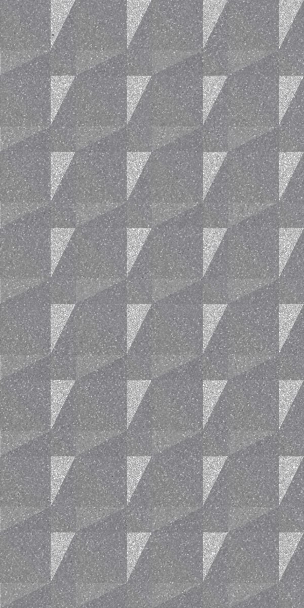 Vinyl Wall Covering Dimension Walls Faceted Silver