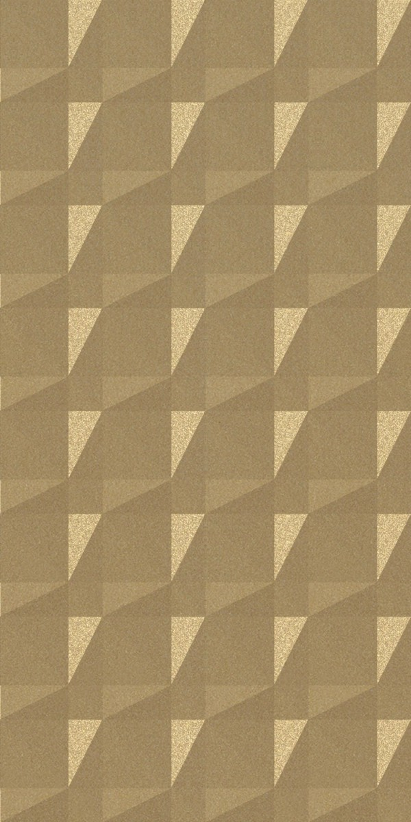 Vinyl Wall Covering Dimension Walls Faceted Gold