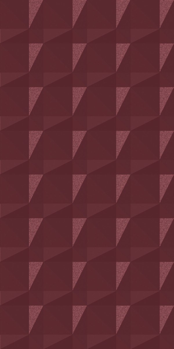 Vinyl Wall Covering Dimension Walls Faceted Marsala