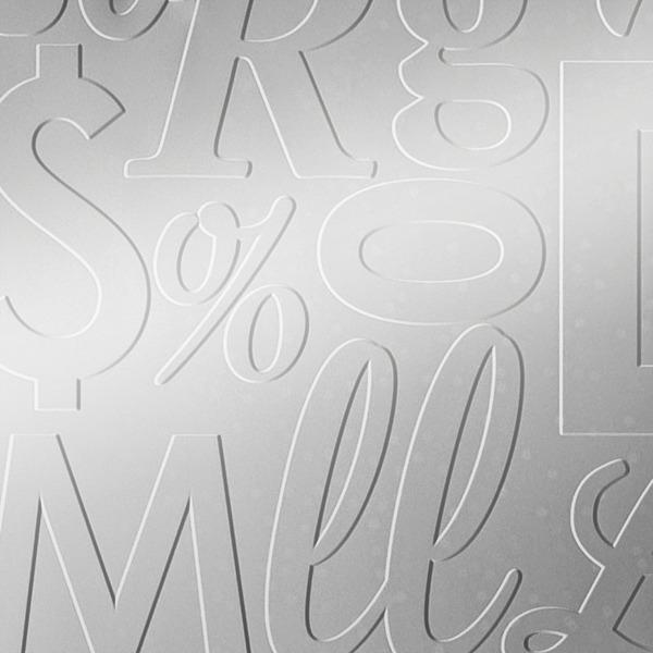 Dimensional Panels Dimension Walls Lingual Metallic Silver