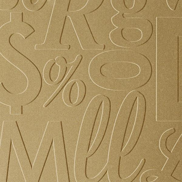 Vinyl Wall Covering Dimension Walls Lingual Gold