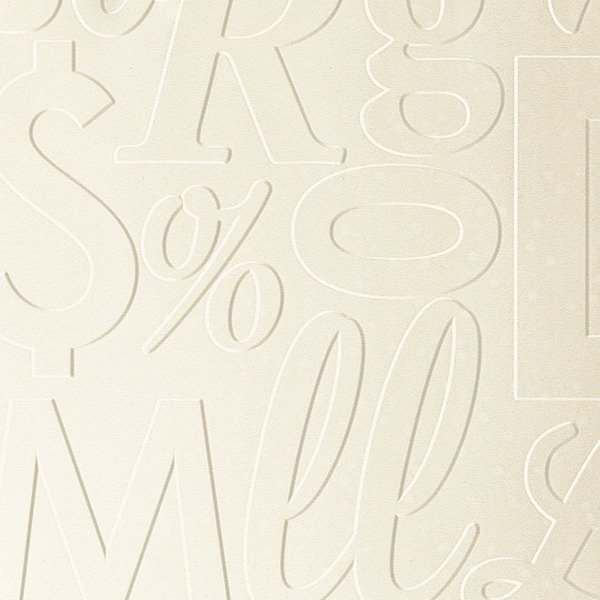 Vinyl Wall Covering Dimension Walls Lingual Off White