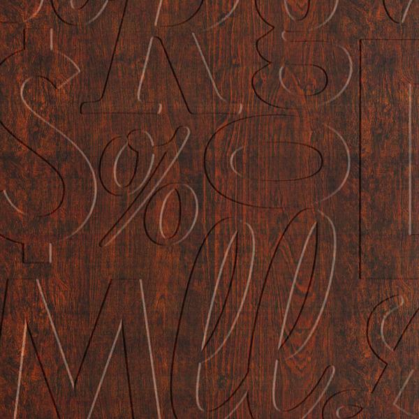 Dimensional Panels Dimension Walls Lingual Walnut