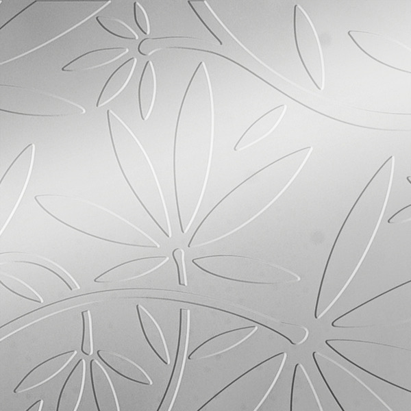 Vinyl Wall Covering Dimension Walls Floral Vine Metallic Silver
