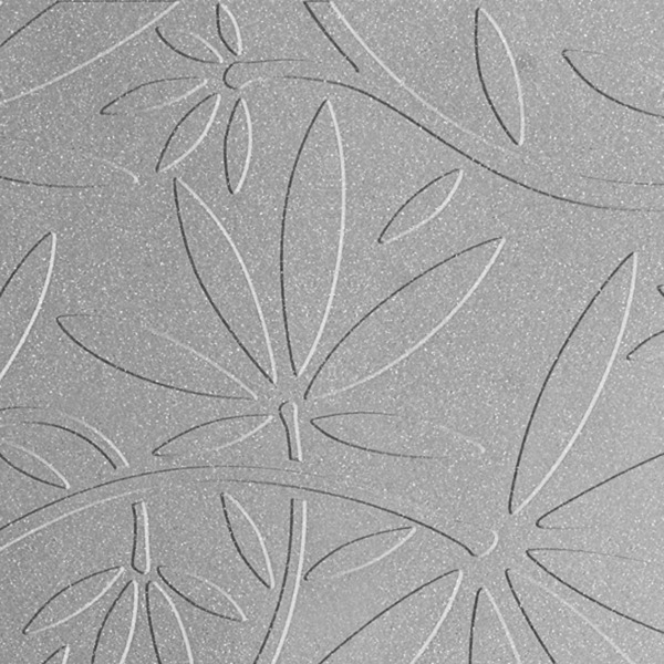 Vinyl Wall Covering Dimension Walls Floral Vine Silver