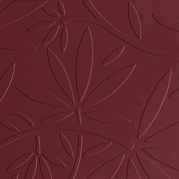 Vinyl Wall Covering Dimension Walls Floral Vine Marsala
