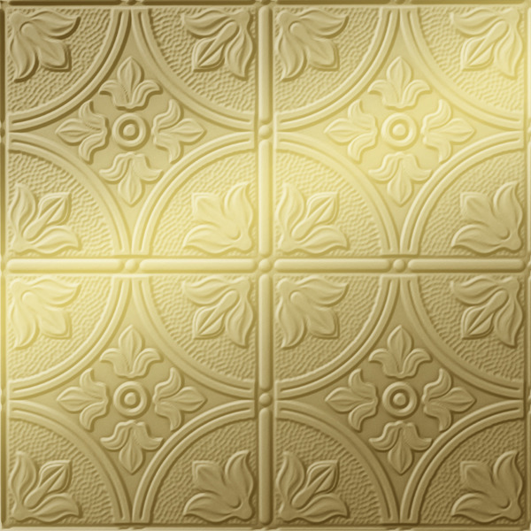 Vinyl Wall Covering Dimension Walls Flower Garden Metallic Gold