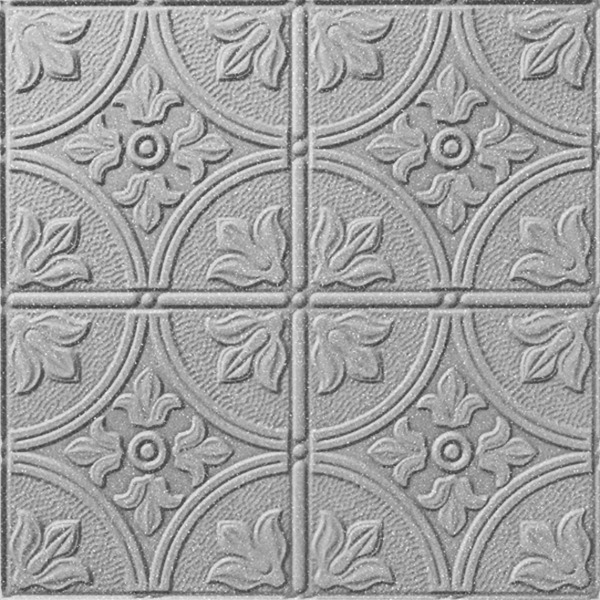 Vinyl Wall Covering Dimension Walls Flower Garden Silver