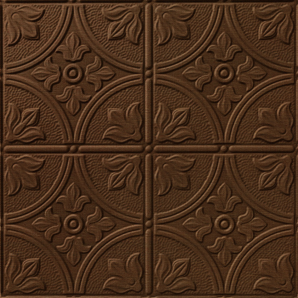 Vinyl Wall Covering Dimension Walls Flower Garden Linen Chestnut