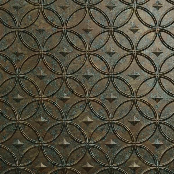 Vinyl Wall Covering Dimension Walls Stellar Copper Patina