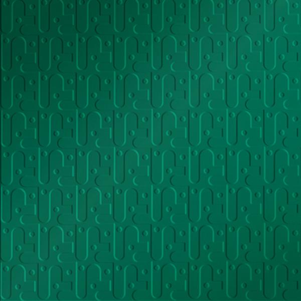 Vinyl Wall Covering Dimension Walls Robotics Metallic Green