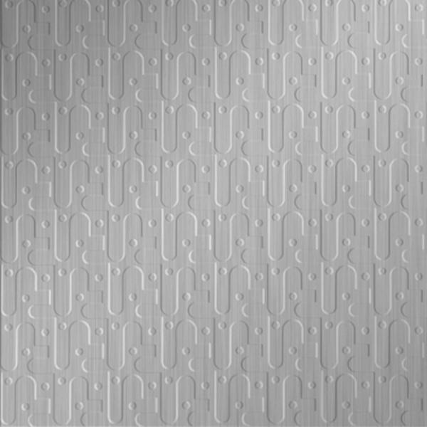 Vinyl Wall Covering Dimension Walls Robotics Brushed Aluminum