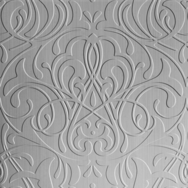 Vinyl Wall Covering Dimension Walls Parisian Brushed Aluminum