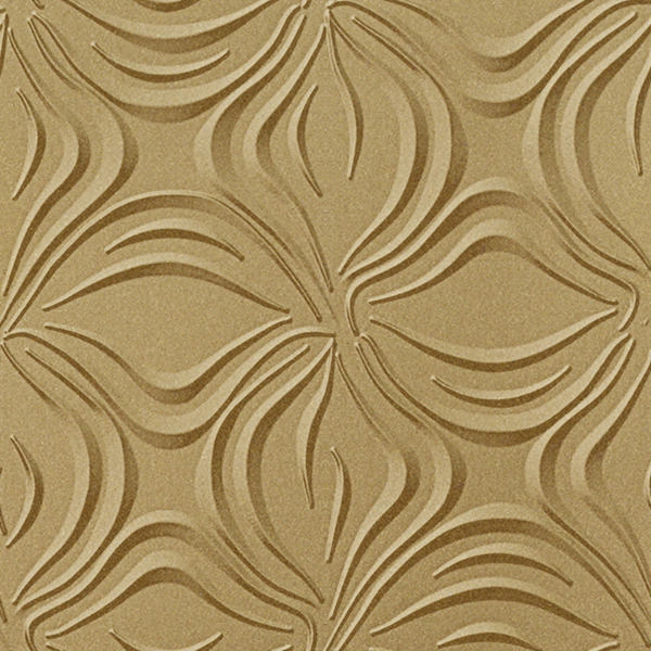 Vinyl Wall Covering Dimension Walls Blossom Gold