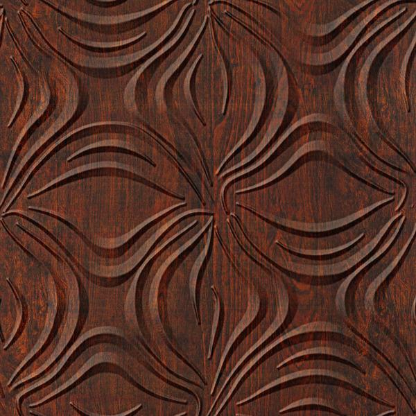 Dimensional Panels Dimension Walls Blossom Walnut