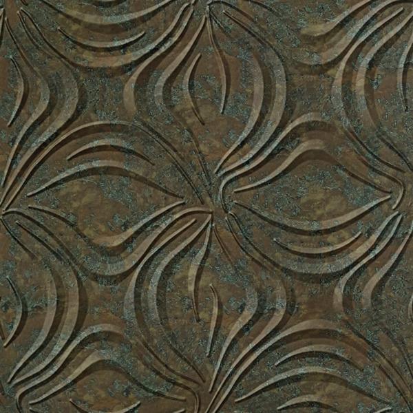Dimensional Panels Dimension Walls Blossom Copper Patina