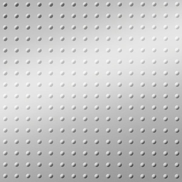 Dimensional Panels Dimension Walls Mini Rivet Metallic Silver