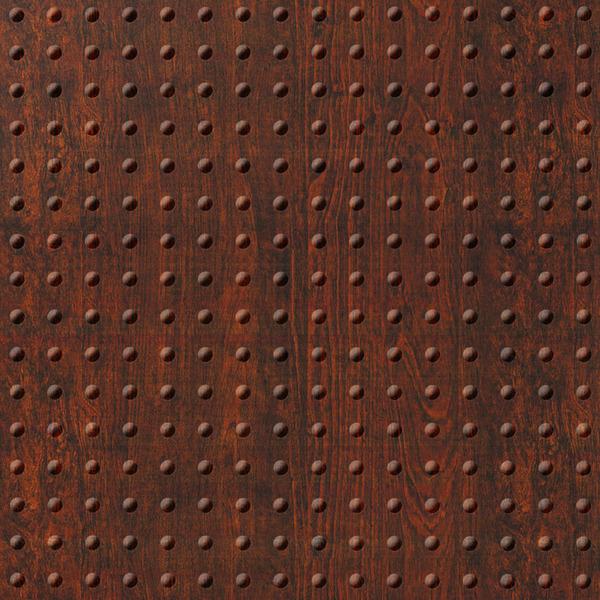 Dimensional Panels Dimension Walls Mini Rivet Walnut